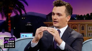 James on Rupert Friend's Polar Plunge: Why?!