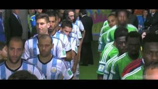 Argentina - Nigeria [Himnos Nacionales] [Copa del Mundo 2014]
