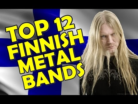 TOP 12 FINNISH METAL BANDS
