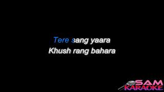 Tere Sang Yaara _ Karaoke sam Karaoke