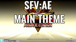 SFV: ARCADE EDITION - Main Theme (full version)