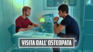 PRIMA VISITA DALL' OSTEOPATA