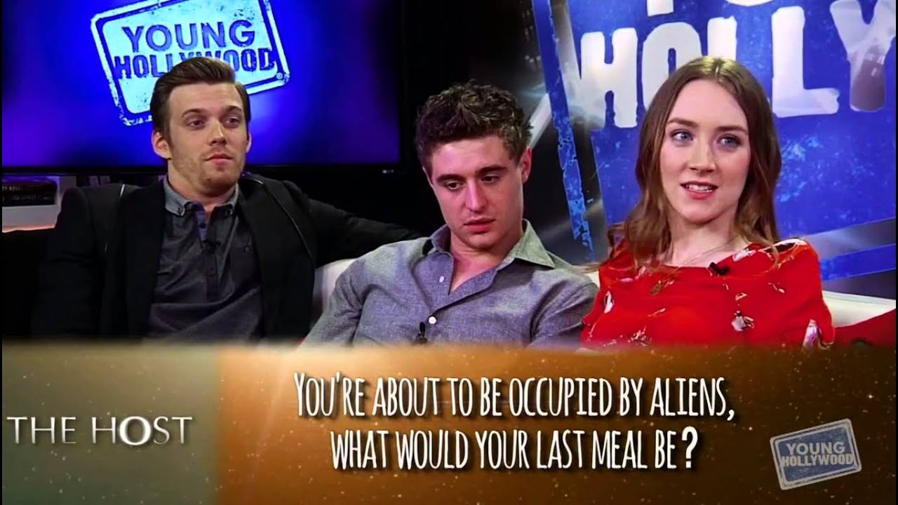 The Host cast on Young Hollywood - YouTube