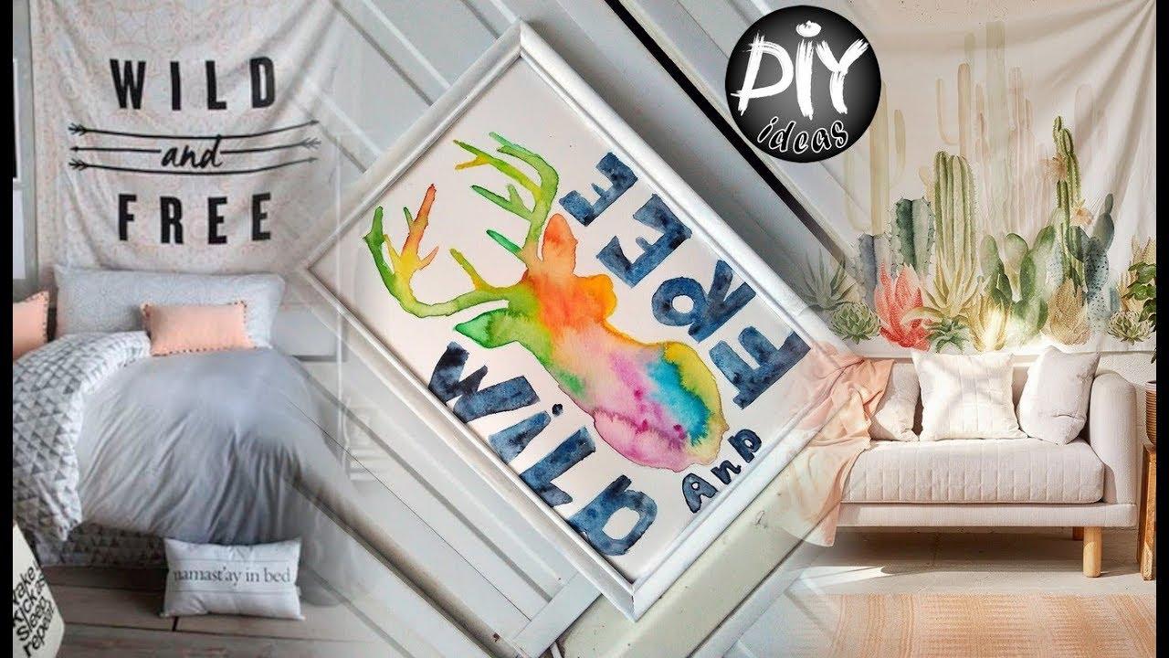 DIY Room Decor Tumblr Inspired Easy