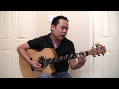 Doi Mat Nguoi Xua Guiltar (cover)