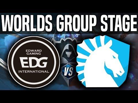 Edward Gaming vs Team Liquid  vod