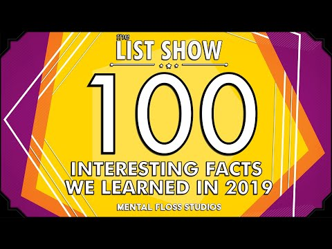 100 Interesting Facts We Learned in 2019