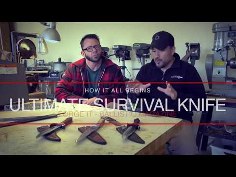 Forge It, Episode 1: Ultimate Survival Knife Inception with Charly Mann