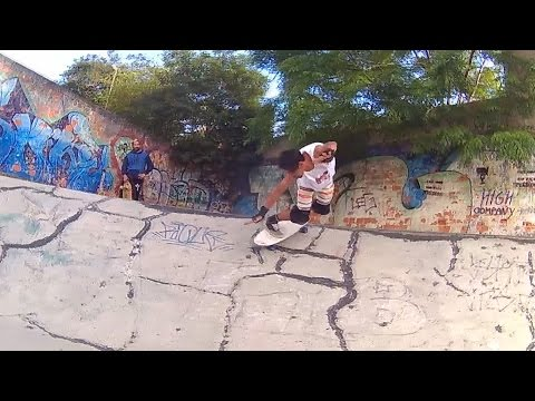 SurfSkate Industries : LandSurfing Brasil no bowl da véia (G