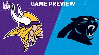 Vikings vs. Panthers (Week 3 Preview) | Around the NFL Podcast | NFL