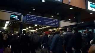 ロンドン・ユーストン駅にて
