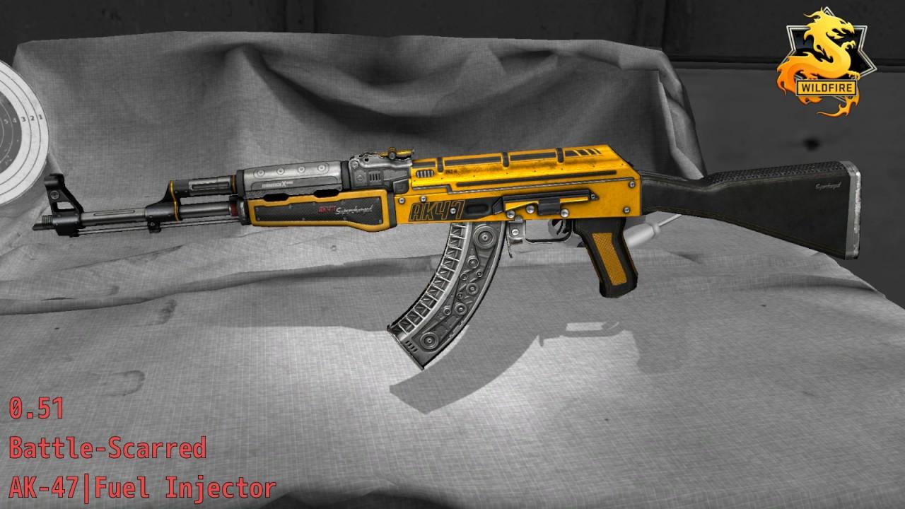 AK-47 Fuel Injector - Skin Wear Preview