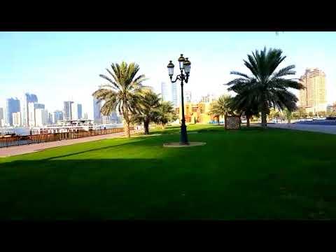 Sharjah aquarium Sharjah maritime museum garden view letest video