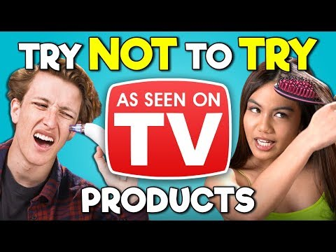 Teens React To Try Not To Try Challenge - As Seen On TV Prod