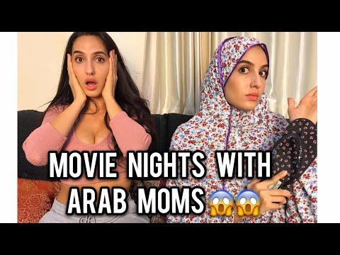 Nora Fatehi | Movie Nights With Arab Moms (Comedy Skit)