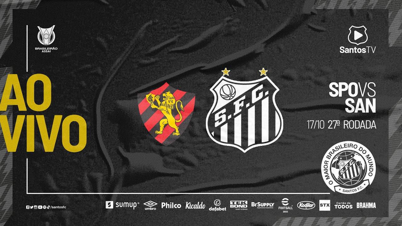 Download 🔴 AO VIVO: SPORT x SANTOS | BRASILEIRÃO (17/10/21)
