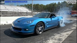 C6 ZR1 Stock Longblock Record 9.3@150mph! BOOST ONLY Kong Performance