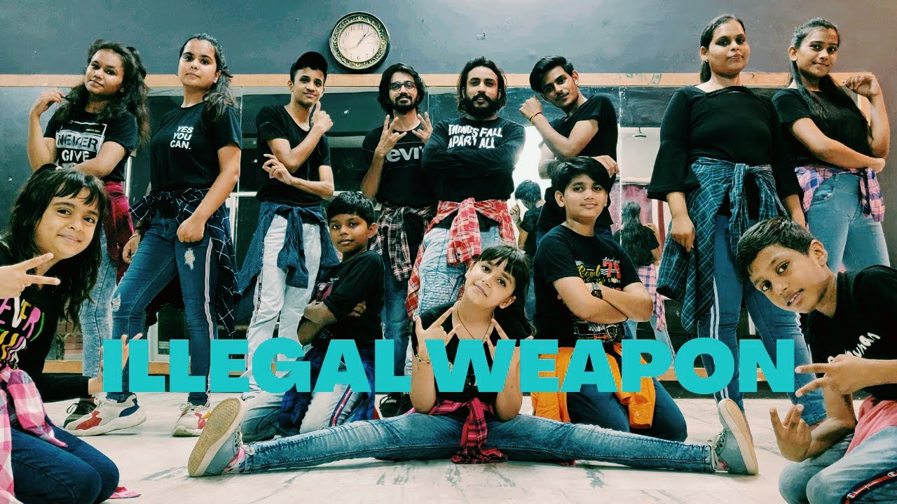 #Illegal Weapon 2.0 !! #StreetDancer !! Varun Dhawan, Shraddha Kapoor !! Choreography RD Chauhan