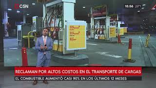 Reclaman por altos costos en el transporte de cargas de combustibles