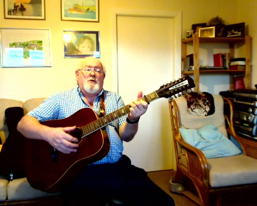 12 string guitar blow the wind southerly including lyrics and chords youtube. Black Bedroom Furniture Sets. Home Design Ideas