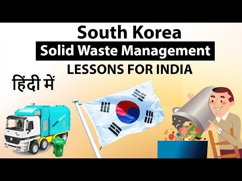 Solid Waste Management Of South Korea And Lessons For India