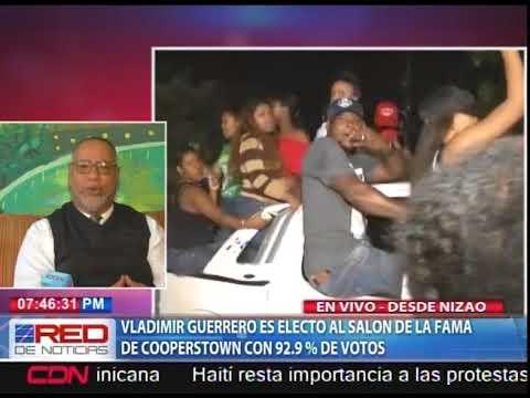 Vladimir Guerrero es electo al Salón de la Fama de Cooperstown con 92.9% de votos