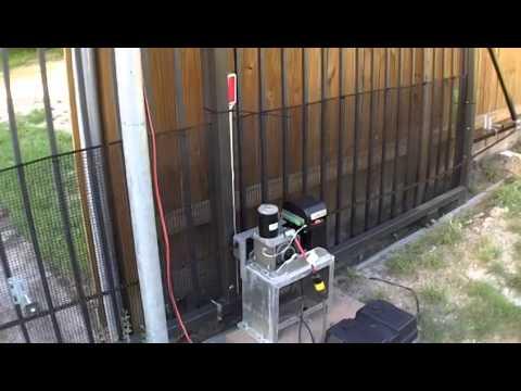 Aleko Ac 1300 Sliding Gate Opener Trouble Youtube