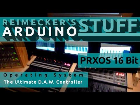 Prxos - The Ultimate D.A.W. Controller with (BCF200) (HUI) (MACKIE CONTROL) (CUBASE) (ARDUINO)
