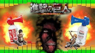 Repeat youtube video Attack on Titan - MLG Airhorn Remix