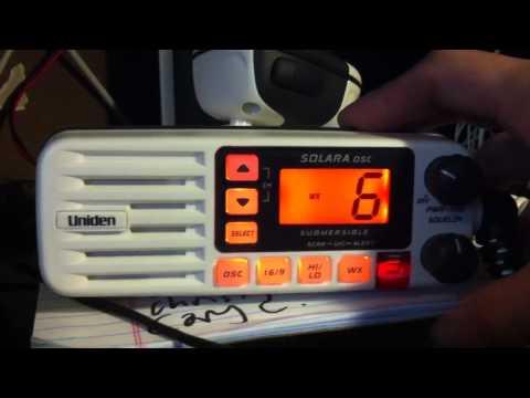 Uniden Solara DSC Marine Radio VHF 25w
