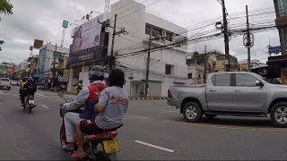 Krabi Town, Thailand: A Short Tour. Krabi Town from a Motorbike. Krabi Thailand