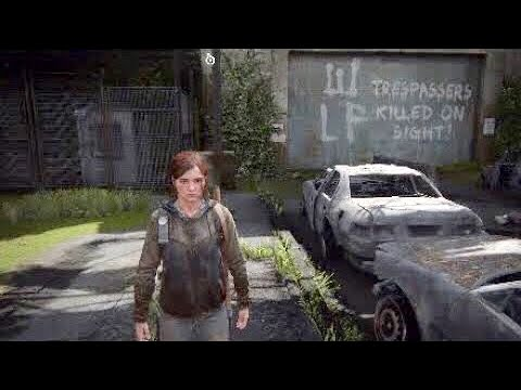 The Last of Us Part ll The Gate (Get Checkpoint Gate Codes) Walkthrough