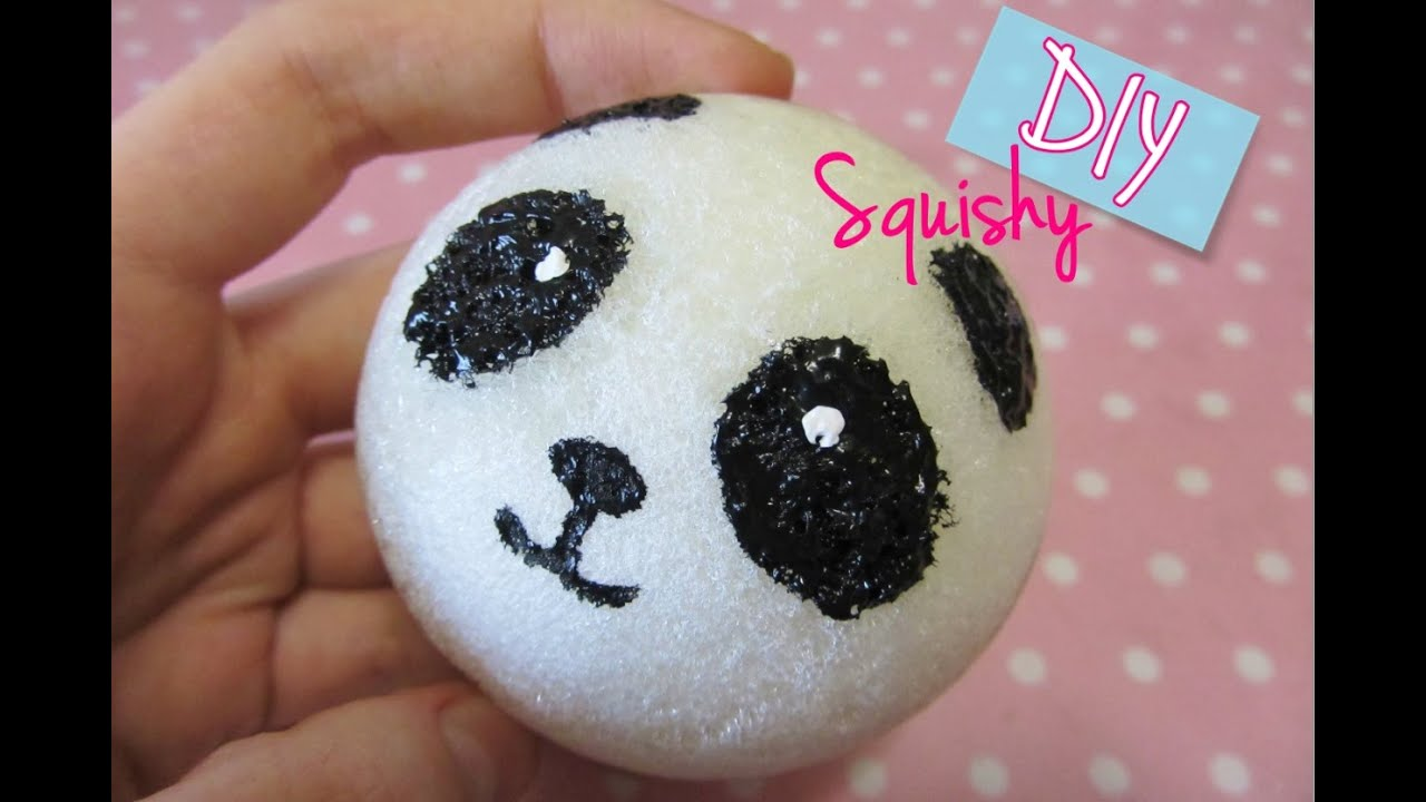 Diy Squishy Cake Roll : Stream Tutorial squishy Panda fatto a mano :) #2240 on Mucis Online
