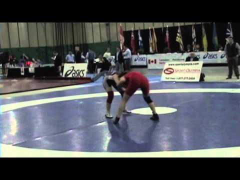 2009 Junior National Championships: 55 kg Laura Gordon vs. Olivia Gunnell