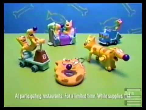 7494115e5ae1 Burger King CatDog Promo 1999. 90s Commercials