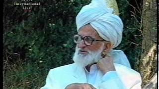 Interview Hazrat Mirza Abdul Haq sahib at Jalsa Salana UK 1999