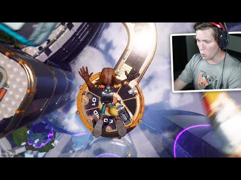 ratchet-&-clank:-rift-apart-ps5-gameplay---playstation-5-official-(reaction)