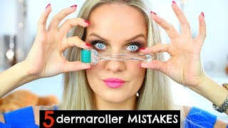 AVOID 5 DERMAROLLER MISTAKES