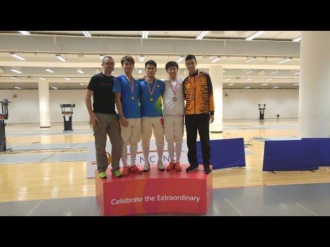 Syed Adam | Singapore Senior Fencing Championship '17