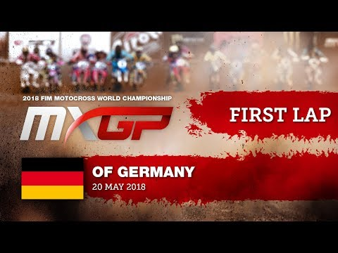 First GoPro Lap with Maximilian NAGL- MXGP of Germany 2018 #motocross