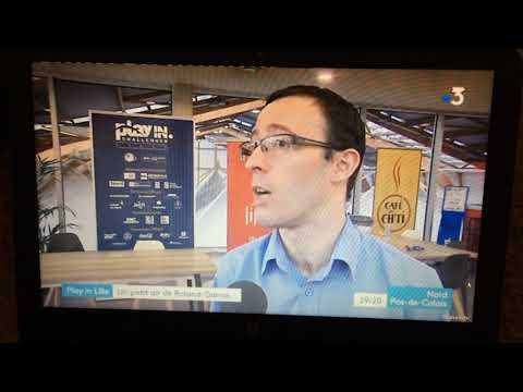 Play In  Challenger Lille 2019 - Reportage France 3 Du 17 Mars 2019