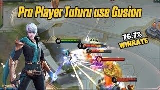 Gusion Tuturu is Powerful - Pro Player Gusion Mobile Legends