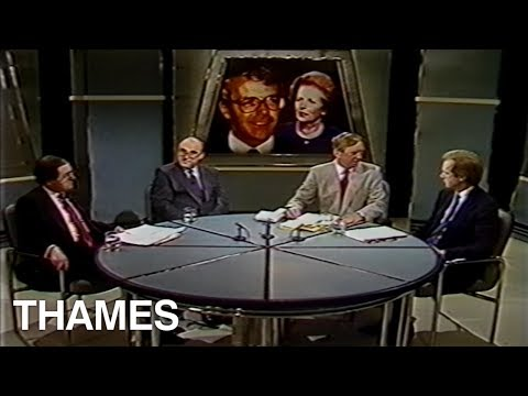 Margaret Thatchers' Legacy   John Major   Studio Debate   This Week   1990
