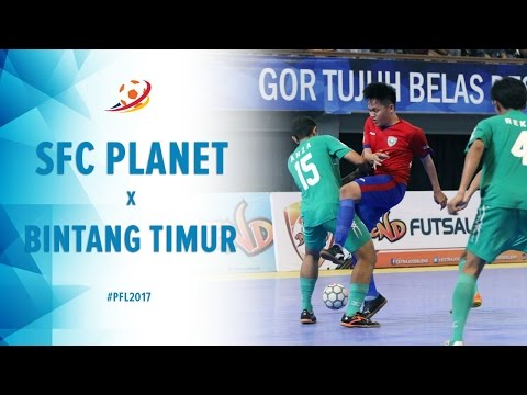SFC Planet Sleman (1) VS (5) Bintang Timur Surabaya - Pro Futsal League 2017