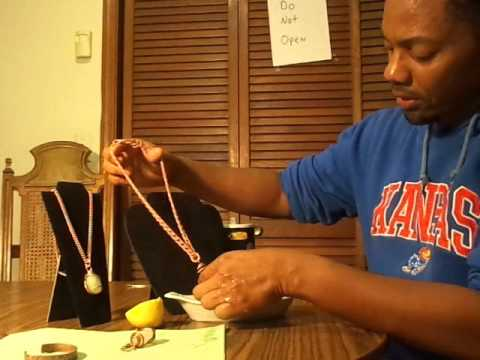 Best Method to clean Copper Jewelry  UshopWell.com