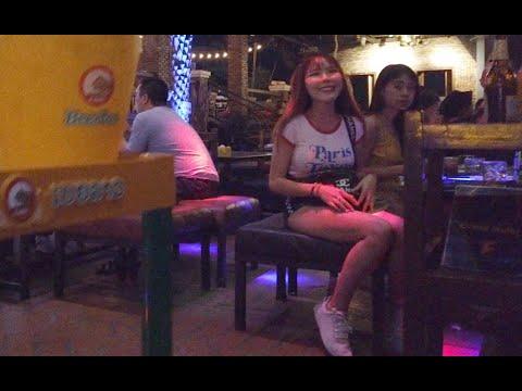 a Beautiful Slim Laos Girl Who had Crush on me, Laos Vientiane Nightlife