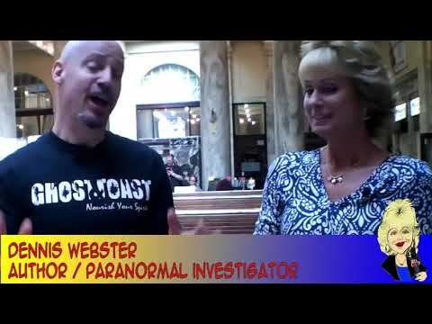 Ghost & Toast with Paranormal Investigator/Author Dennis Webster on the Hangin With Web Show