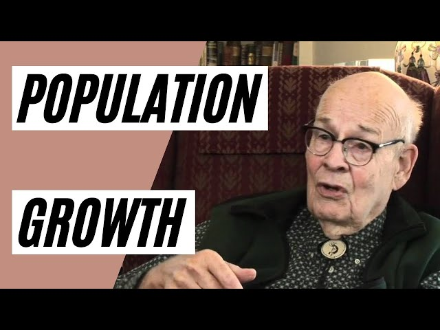 POPULATION GROWTH - Should we be concerned? (Dr. Albert A  Bartlett Presentation)