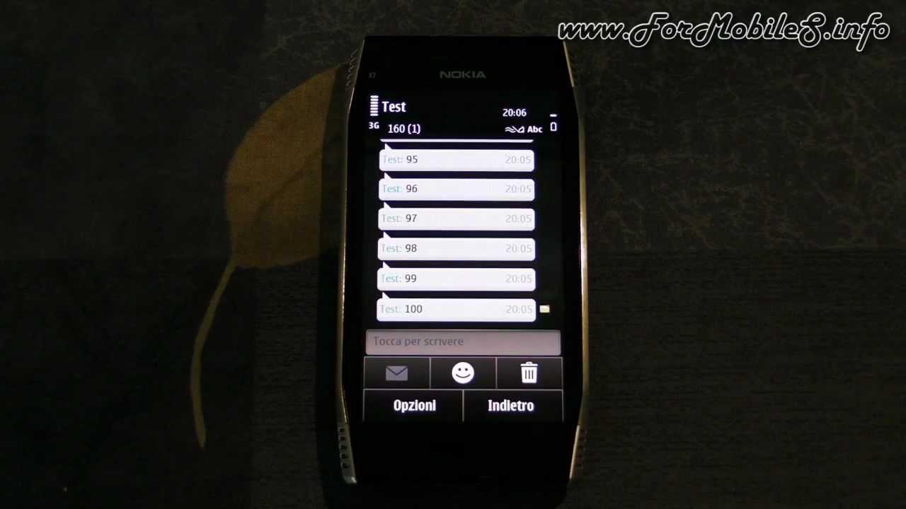 Nokia x7 00 software - Nokia X7 00 Demo Sms Bombing