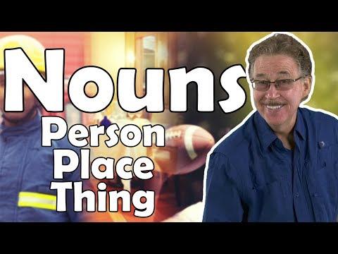What is a Noun?  Parts of Speech Song  Jack Hartmann